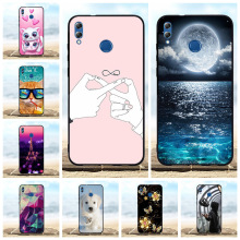 For Huawei Honor 8X Max Case Ultra Thin Soft TPU Silicone For Huawei Enjoy Max Cover Dog Patterned For Honor 8X Max Shell Funda huawei honor 8x max case dual layer armor tpu pc shell shockproof back cover for huawei honor 8x max case honor 8x max funda 7 2