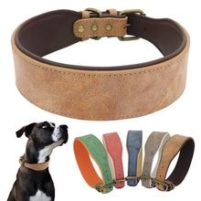 Collier Large en cuir pour chiens