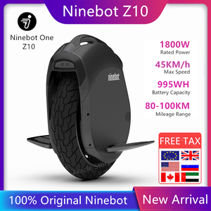 Original Ninebot One Z10 Z6 Self Balance Electric Scooter 45km/h Support Bluetooth Foldable Unicycle Motor Hoverboard