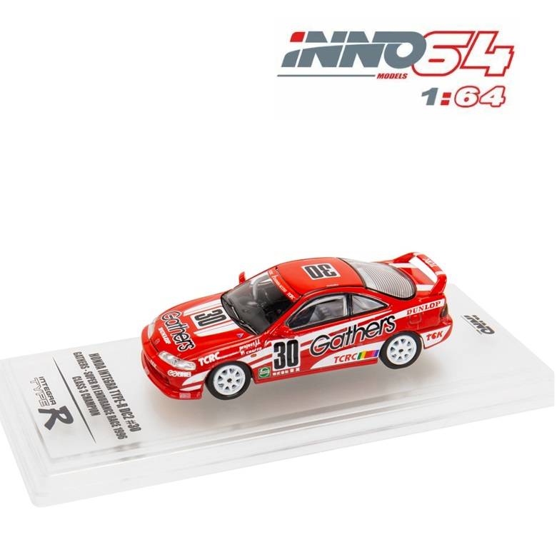 INNO 64 Honda INTEGRA Тип R DC2 #30 собирает литой модельный автомобиль