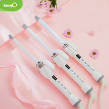 saengQ Hair Curler Not Hurt Hair Mini Perm Stick Electric Hair Stick Buckle Hair Curler Air Bangs Electric Coil 9/13/16MM
