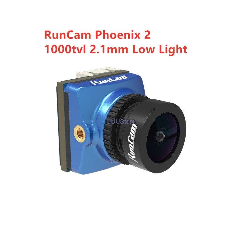 Новинка 2020 RunCam Phoenix 2 отличный низкий светильник производительность 1000tvl 2,1 мм Freestyle FPV камера PAL/NTSC переключаемый|Детали и аксессуары|   | АлиЭкспресс