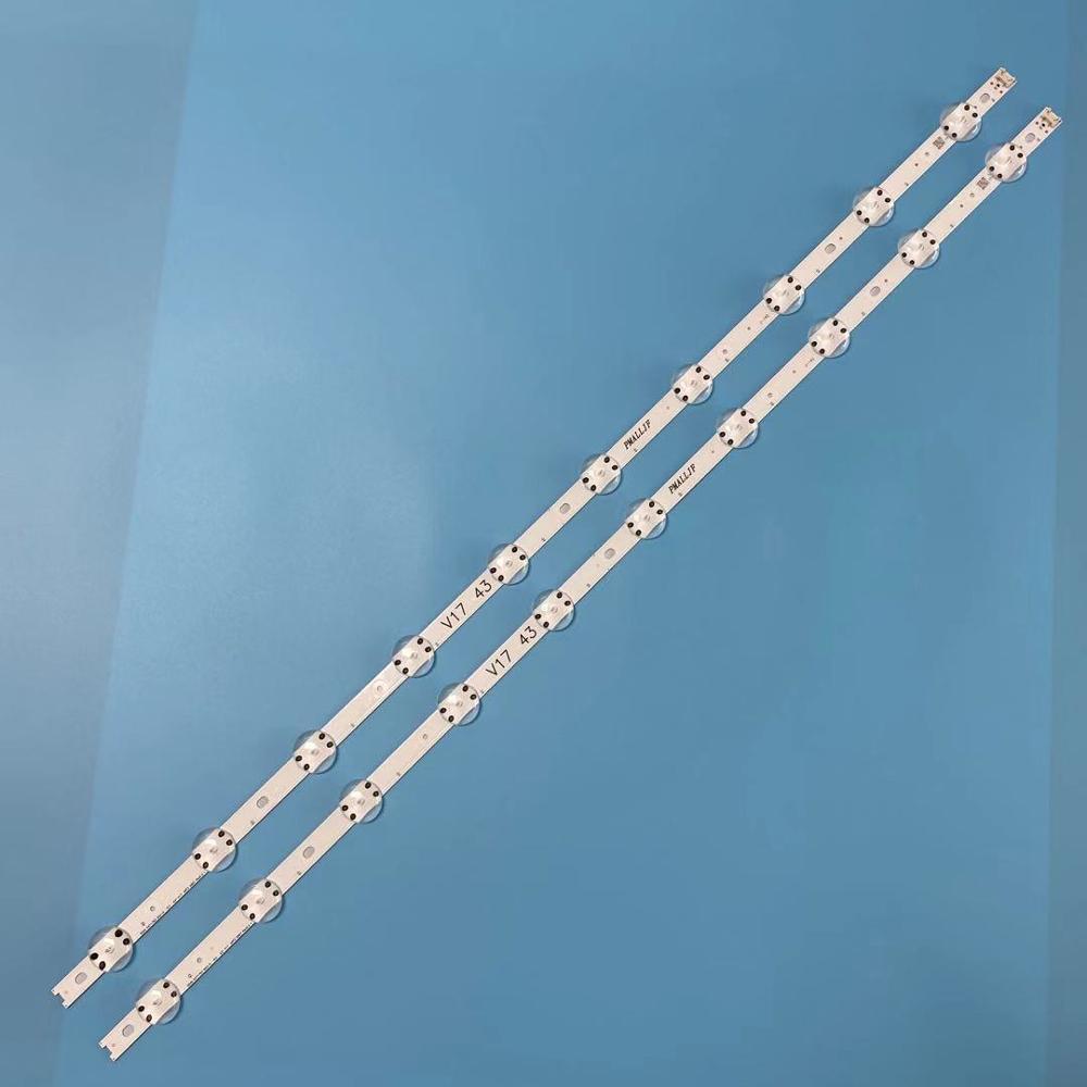 """2pcs LED Strip For LG 43"""" TV 6916L 2867A 6916L 2867F 6916L 2867B 43UV340H LC430DGG (FK)(M3) 43UV340HRemote Controls   -"""