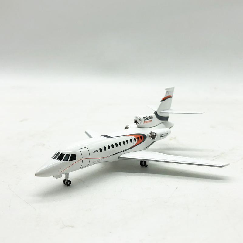 Dassault Falcon 217 Falcon 1/200 Simulation Alloy Aircraft Model 247 Collection Model Toy
