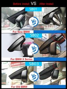 Image 5 - For BMW X3 e83 f25 X4 f26 GT f34 f07 5 X1 X5 F15 2018 / f30 320i 2015 wifi Car DVR Video Recorder Dash Cam