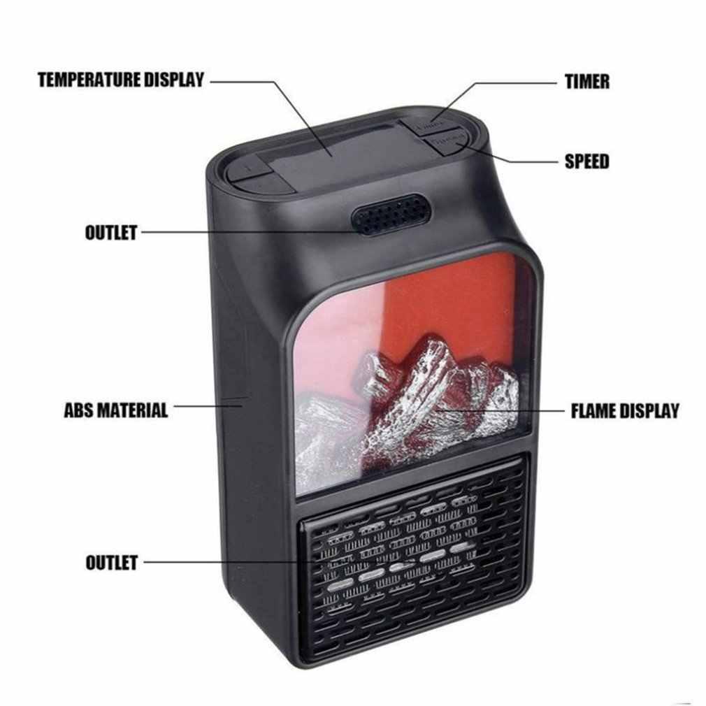 Mini Heate łatwy w użyciu wystarczy podłączyć go do gniazda przenośne elektryczne dmuchawa gniazdko do montażu naściennego poręczne gospodarstwo domowe