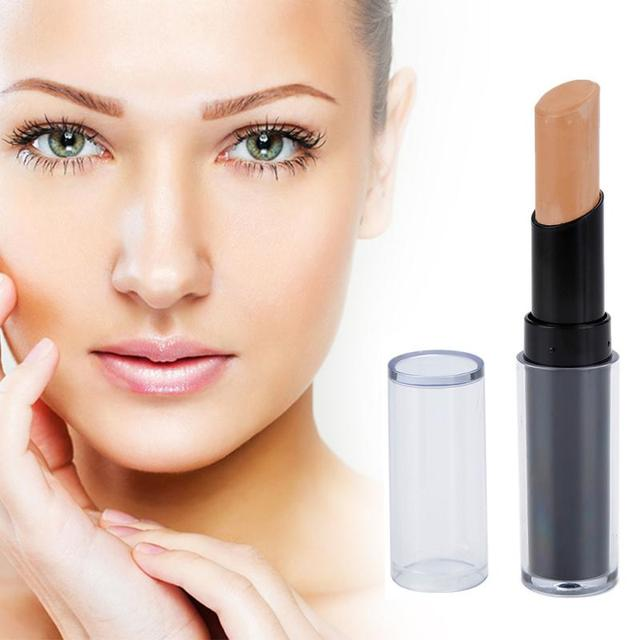 Concealer Foundation Full Cover Face Corrector Hide Blemish Dark Eye Circle Contour Stick Face Makeup Primer Pen Cosmetics TSLM1 1