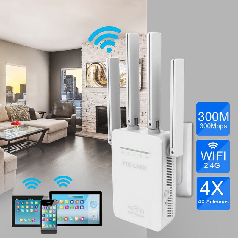 300Mbps WR09 300Mbps WiFi Signal Network Router Home Network 802.11b/g/n 2 Long Distance