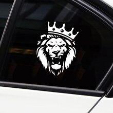 Acessórios do carro do leão exterior personalizado adesivos de carro decalques da motocicleta