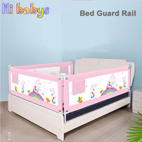 Adjustable Baby Playpen Vertical Lift Bed Guardrail Safety Bed Fence Security Children Crib Rail Newborn Barrier For Beds