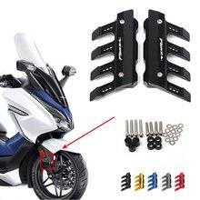 Voor Honda Forza 300 125 250 350 Universele Motorfiets Spatbord Side Bescherming Voorspatbord Cover Anti Val Slider