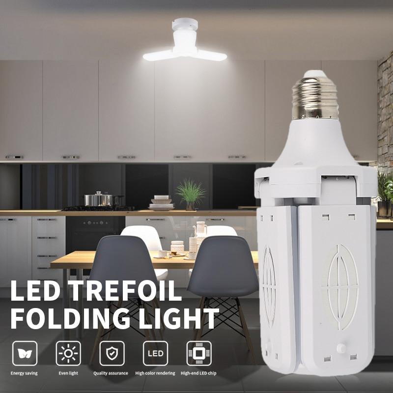 Складной гараж светильник супер яркий светодиодный промышленный светильник ing светильник шарик 30 Вт 40 Вт E26 деформируемая игрушка подвесно...