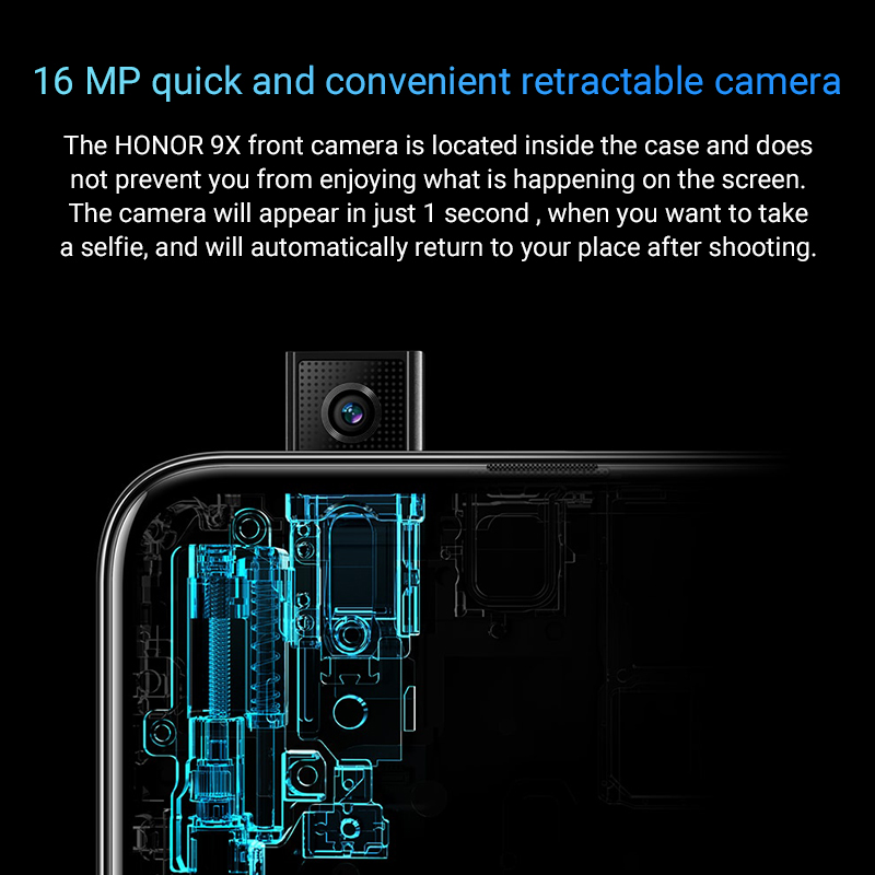 Special Version Honor 9X Smartphone 4G128G  48MPin Accra, Ghana 4