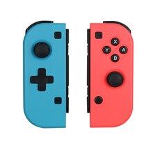 Mando de juegos inalámbrico Bluetooth izquierdo y derecho para juego Nintendo Switch NS para Nintendo Switch Console r25