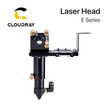 Cloudray E 시리즈: 렌즈 용 CO2 레이저 헤드 D18mm FL38.1 D20mm FL50.8 & 63.5 & 101.6mm 미러 25mm 레이저 커팅 머신 용