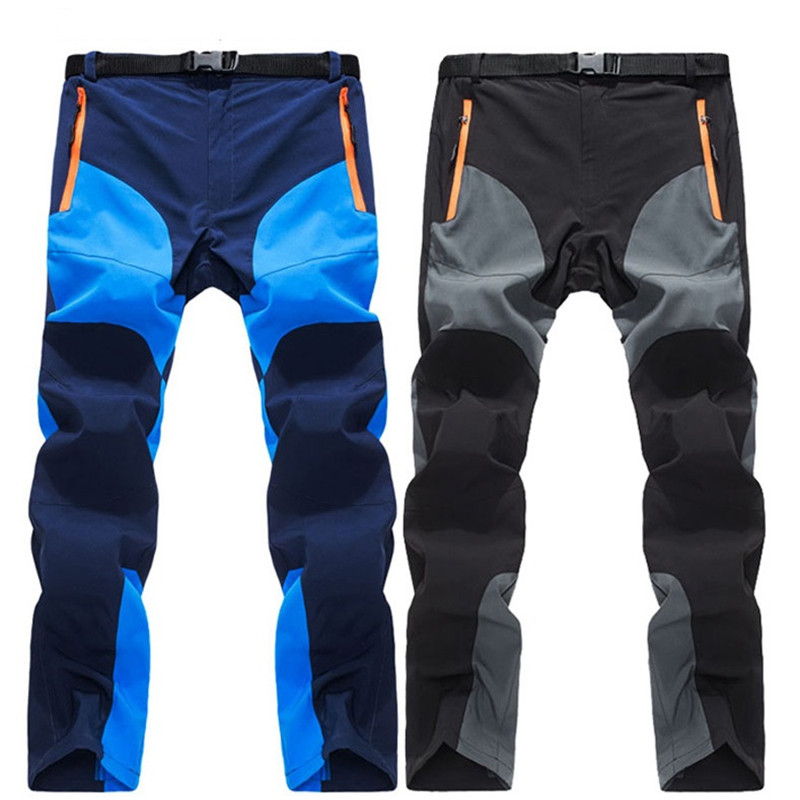 Nice Tide Men Summer Quick Dry Pants Casual Sweatpants Elastic Softshell Breathable Trekking Trousers Joggers Male Cargo Pants