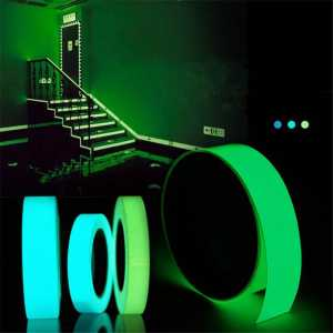 Sticker Decoration-Tape Self-Adhesive Blue Glowing-In-The-Dark Security 5mx15mm Home