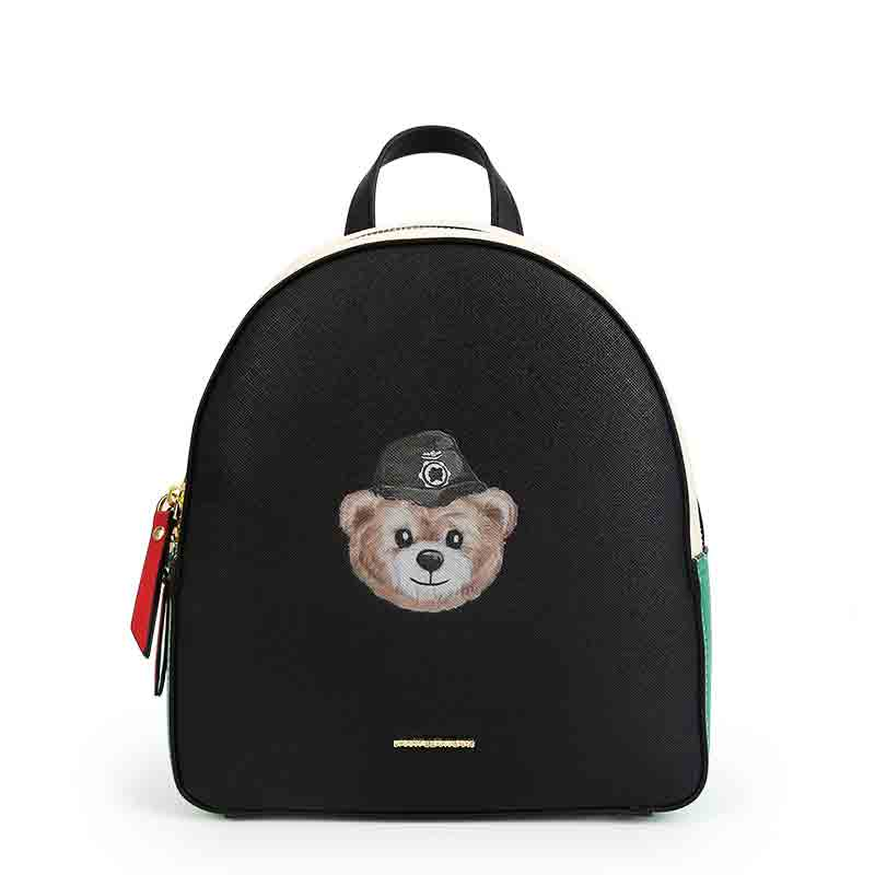TS-DB001 High Quality Original 1:1 Spanish Bear Fashion Ladies Girls Backpack Leather Bag Women's Luxury Bag Free Shipping