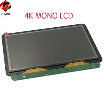 Kelant-pantalla LCD monocromática s500, piezas de impresora 3d, accesorios, 4K, mono, 8,9...