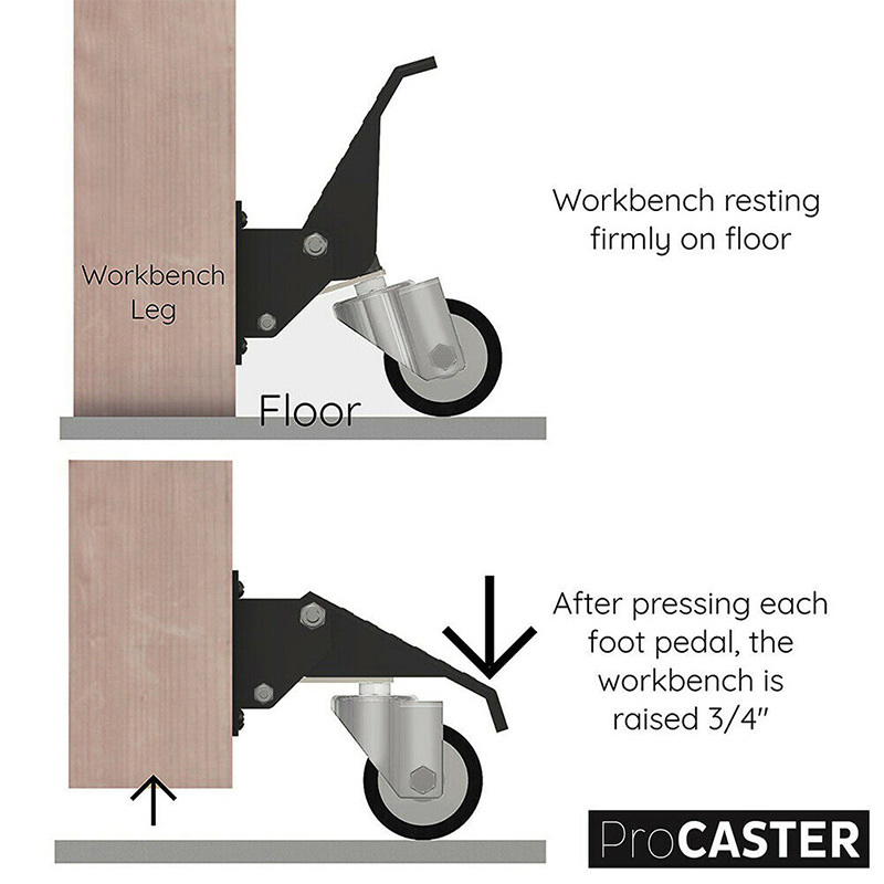 New Worktable Robust Caster…