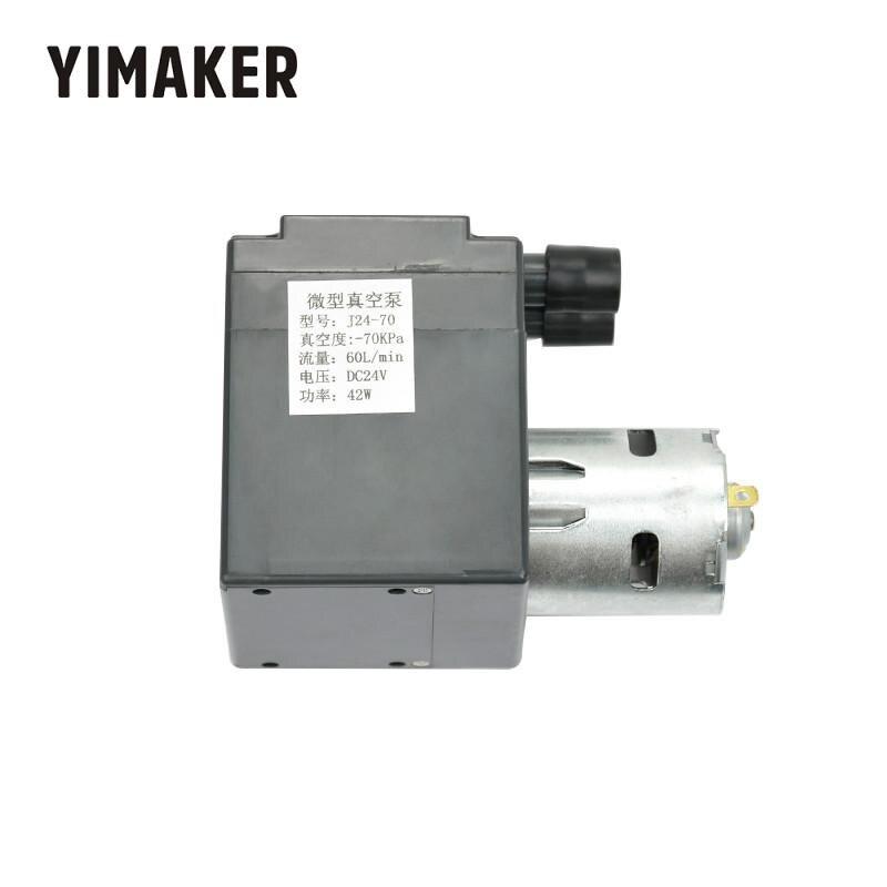 YIMAKER DC24V ミニ真空ポンプ負圧排気吸引ポンプ圧力ポンプ大フロー 60L  グループ上の 家のリフォーム からの パンプス の中 1