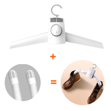 Smart Frog Portable Clothes Dryer Electric Shoes Clothes Drying Rack Hangers Foldable heater hanger