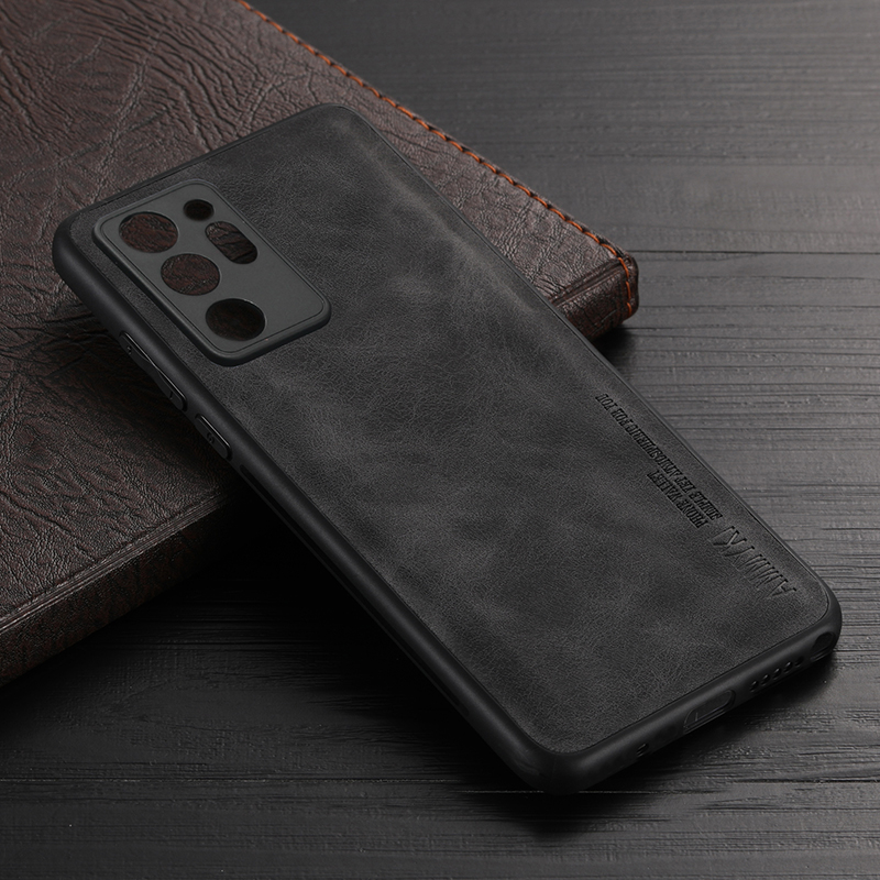 Soft TPU Silicone Cover For Samsung Galaxy Note 20 Ultra Case Leather S21+ Case For Samsung S21 Plus Note 20 Ultra Case
