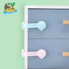 6 шт. многофункциональный детские ящика блокировка пластиковой детской безопасности для кабинета холодильник окне гардероб защитить малыша протектор безопасности