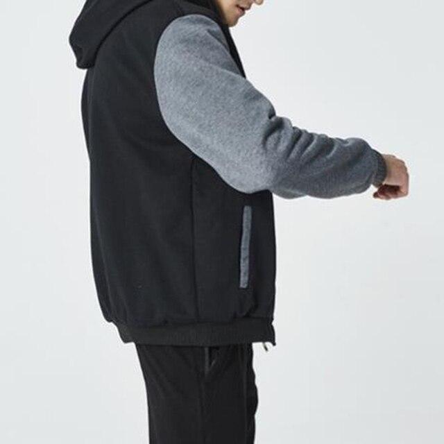 2021 Newset Men Coat Jacket Outwear Winter Slim Hoodie Warm Hooded Tracksuits Stylish Fashion Design Bursting Drop Ship 5XL 6