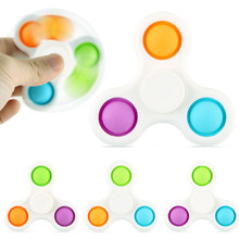 Juguetes antiestrés para niños, juguete educativo antiestrés, con hoyuelos simples, con controlador de presión, antiestrés
