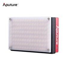 Aputure AL-MX Mini LED Video Light 2800K-6500K CRI95+ 128pcs LED Adjustable Brightness Photo Studio Camera Light With Bag
