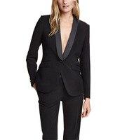 Autumn Winter Women Suits Office Sets 2 Piece Slim Fit Pant Suits for Women(blazer+pant)