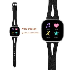Image 3 - Printing leather Watch band For Fitbit Versa 2 Smart Watch Pattern Bracelet Band for fitbit versa / versa lite correa