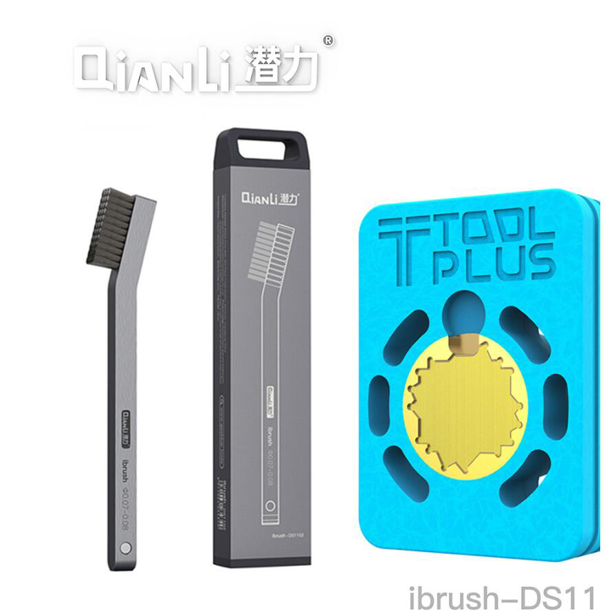 Hot Bat LP550 Heating Platform And QianLi IBrush DS1102 Meticulous Steel Brush For IPhone A8 A9 A10 A11 CPU Soldering