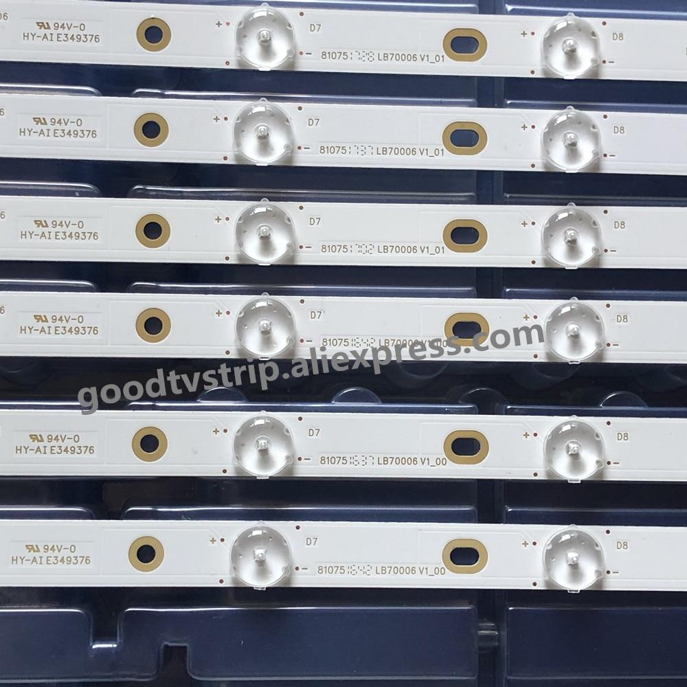 "LED Backlight strip 9+9 lamp For VI ZIO 70"" TV LB70006 E70-E3 LFTRVRCT LFTRVRAS E465853 E70-E3 SE70 UHD V1_00 Left & Right"