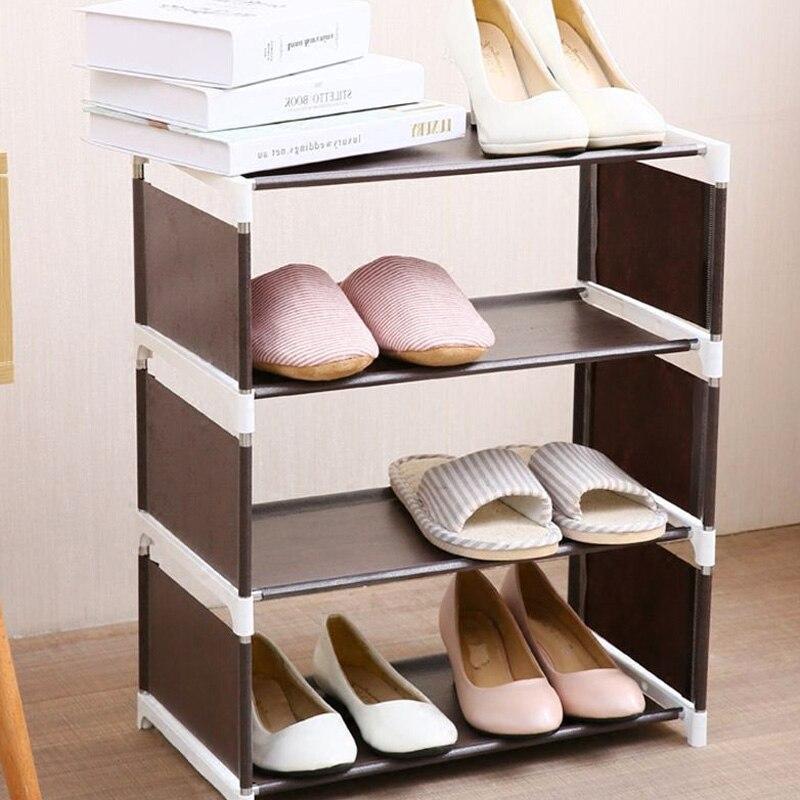Creative Shoe Shelf Slipper Shoes Hanger Housekeeping DIY Multi-Storey Closet Storage Household Supplies Home Organization