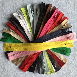 20 piece 3# Nylon Coil Zipper Zip For Sewing Bags 12 / 15 / 20 / 25 / 30 / 35 / 40 / 45 / 50 / 55 / 60 cm Ziper For Clothes DIY