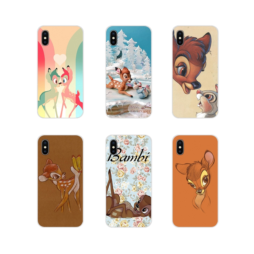 For <font><b>Huawei</b></font> Nova 2 3 2i 3i Y6 Y7 Y9 Prime Pro <font><b>GR3</b></font> GR5 <font><b>2017</b></font> 2018 2019 Y5II Y6II Sika deer Bambi Accessories Phone <font><b>Cases</b></font> Covers image