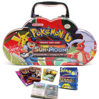 102 sztuk zestaw Pokemon przenośne blaszane pudełko TAKARA TOMY bitwa zabawki Hobby Hobby kolekcje kolekcja gier Anime karty dla dzieci tanie i dobre opinie CN (pochodzenie) 8 ~ 13 Lat 14 lat i więcej 2-4 lat Dorośli Chiny certyfikat (3C) Zwierzęta i Natura Transport Fantasy i sci-fi