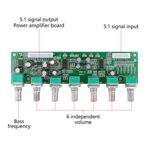 Image 2 - AIYIMA 5,1 Verstärker Vorverstärker Ton Board Preamp 6 Kanal Bass Frequenz Volumen Unabhängige Einstellung Für 5,1 Heimkino