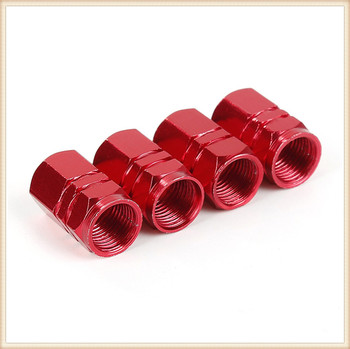 4PCS Car Accessories Tire Valve Stem caps Bolt-in for Mercedes Benz Class ML GL G GLC43 G350d E350 W211 W203 W204 image