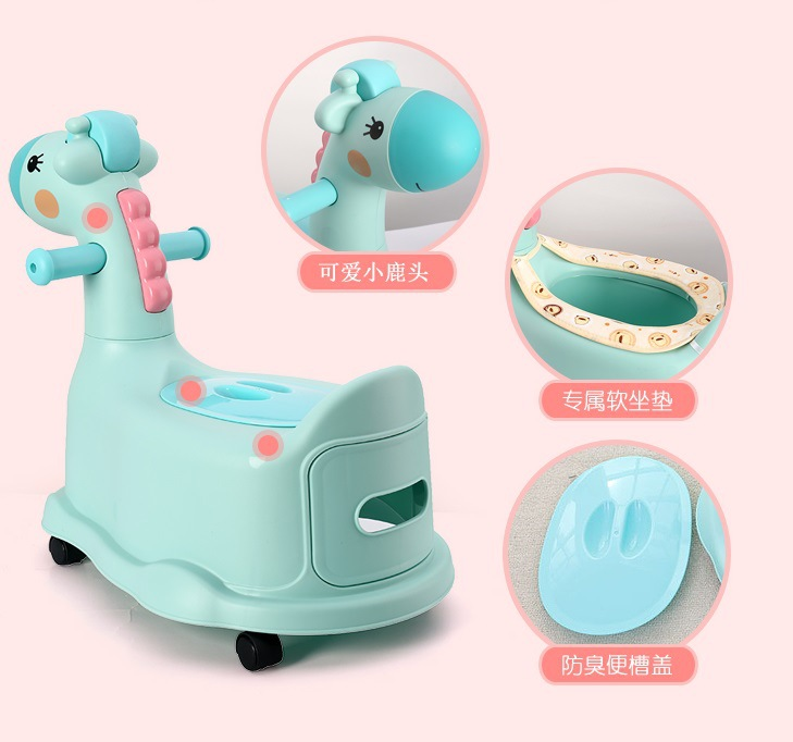 CHILDREN'S Toilet Pedestal Pan 1-3-6-Year-Old Extra-large No. Ultra-CHILDREN'S Female Baby Stool BOY'S Bedpan Infant Soft 0