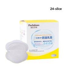 24 Pcs Breast Pads Anti Overflow Milk Pad Anti-overflow Close Milk Pad Breathing Non-washable