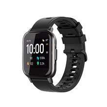 Replacement Silicone Wrist Band Strap For Haylou Smart Watch 2 Intelligent Wearable Accessories Printed Silicone Watch Strap cheap Rondaful CN(Origin) english Adult All Compatible Push Message Dropship Wholesale Epacket