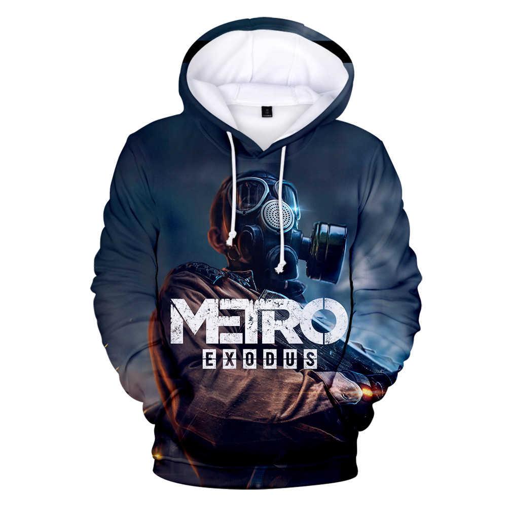 브랜드 디자이너 personlijkheid metro exodus metro verlaten 후드 티 스웨터 mannen/vrouwen 스웨터 herfst winter game
