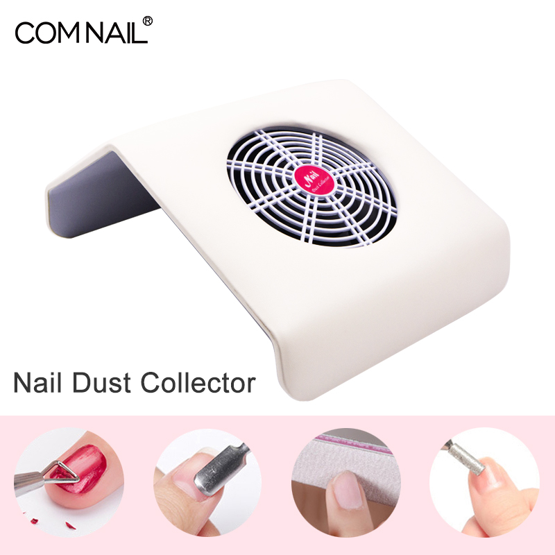 Comnail Powerful Nail Dust Collector With High Suction Fan Manicure Vacuum Cleaner Dust Collector With 2 Dust Collecting Bags