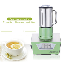 Tea Extractor 800ml Microcomputer Stainless steel fully automatic professional tea shop extraction tea machine 600W 1PC|Food Processors| |  -