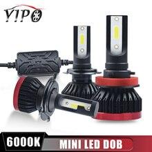 h7 led bulb headlight kit h4 h11 9005 9006 HB3 HB4 9012 headlamp lampada beam spotlight DOB chip car light 6000k 12V MINI