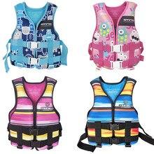 Water Sports Life Vest For Kids Children Swimming Life Jacket Kayak Life Vest Jackets Water Sports Safety Equipment for Drifting