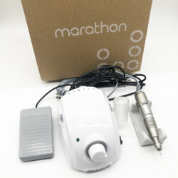 MARATHON-Champion 3 Electric Manicure Dril 65W 30000RPM H200 Handle cutter Manicure tools for manicure Nail Drill equipment